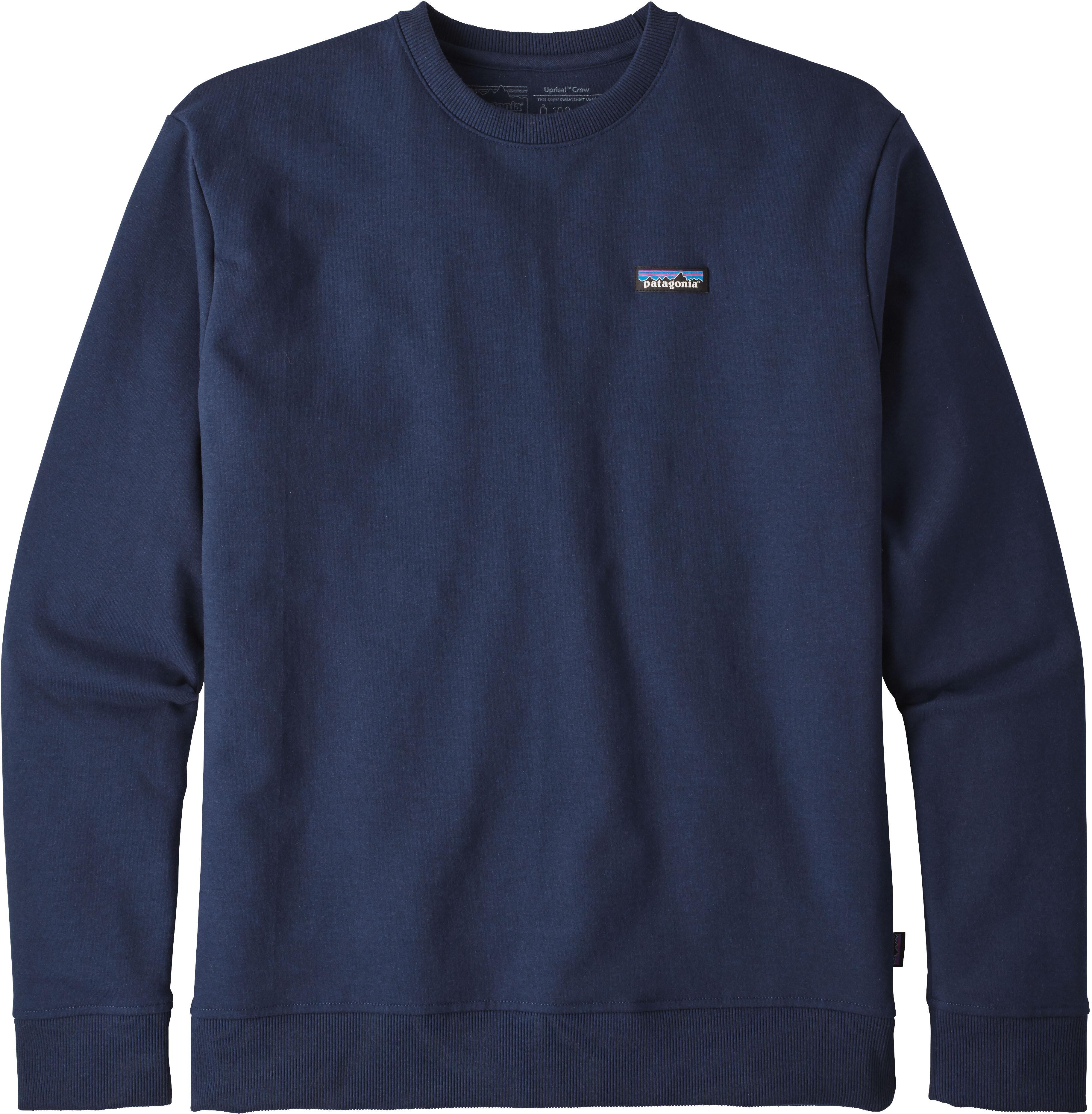 Patagonia M s P-6 Label Uprisal Crew Sweatshirt Classic Navy ... c241fd00cfcb9